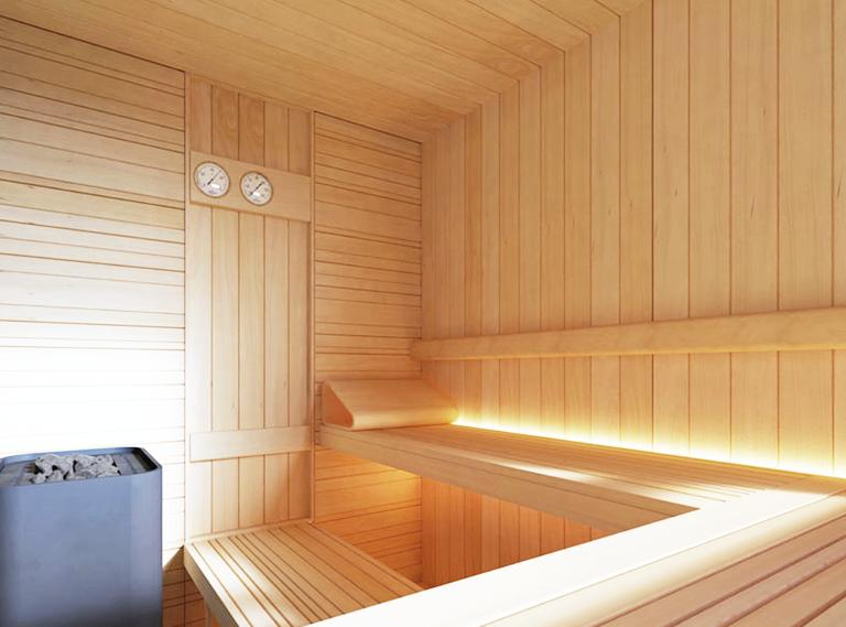 Ruang Sauna dan Steam MAXER